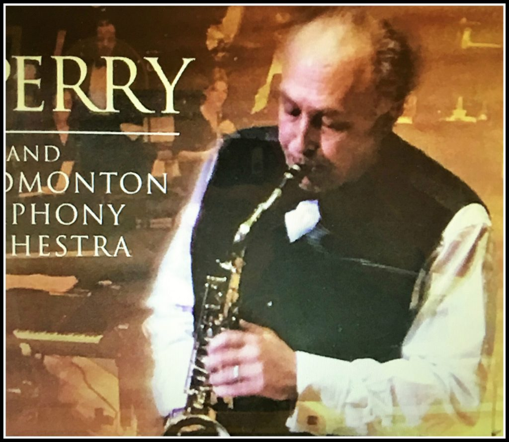 "The CD ""P. J. Perry And The Edmonton Symphony Orchestra."""