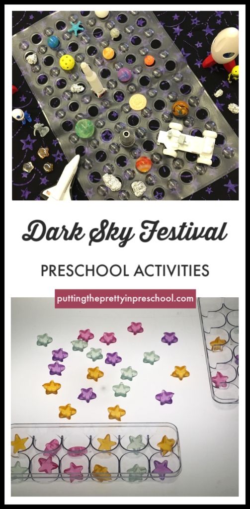 Dark Sky Festival preschool activities.