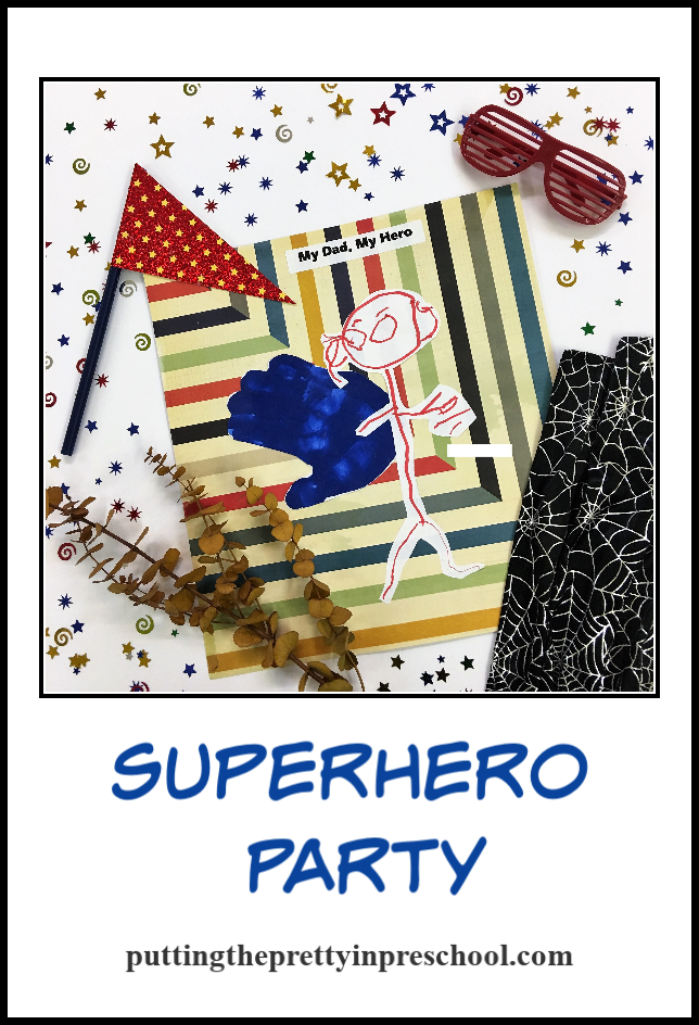 Ideas for Superhero Party art, dress up clothes, activities, photo opportunities and table decorations. Suitable for all ages.