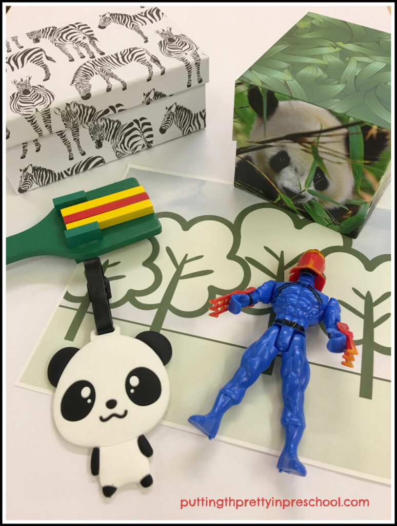 "Story accessories to compliment the picture book ""Wink, The Ninja Who Wanted To Nap"" by J. C. Phillipps."