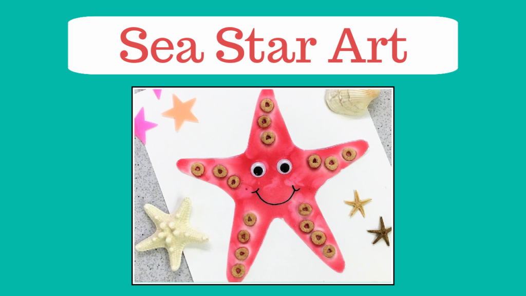 Video tutorial featuring a taste safe painted starfish inspired by the pink short-spined sea star. This is an all-ages art activity.